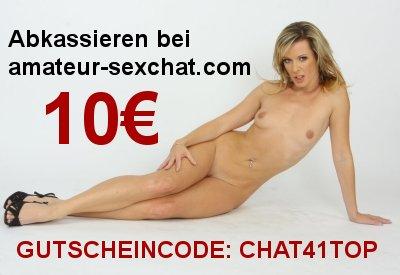 Gutscheincode CHAT41TOP für www.amateur-sexchat.com